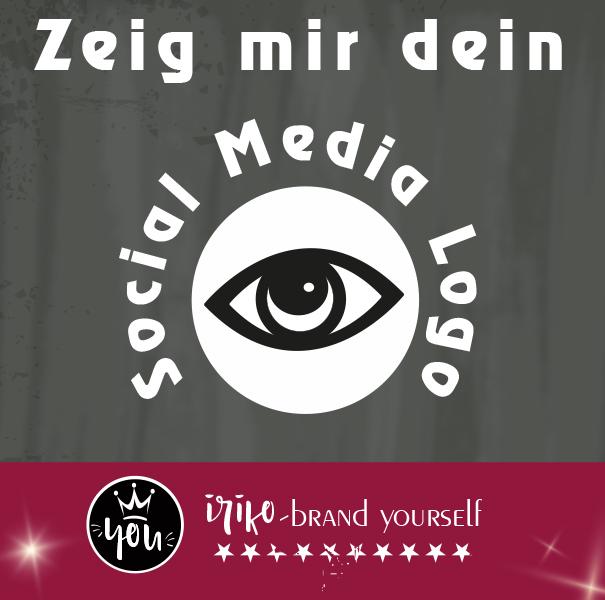 Zeig mir dein Locial Media-Logo
