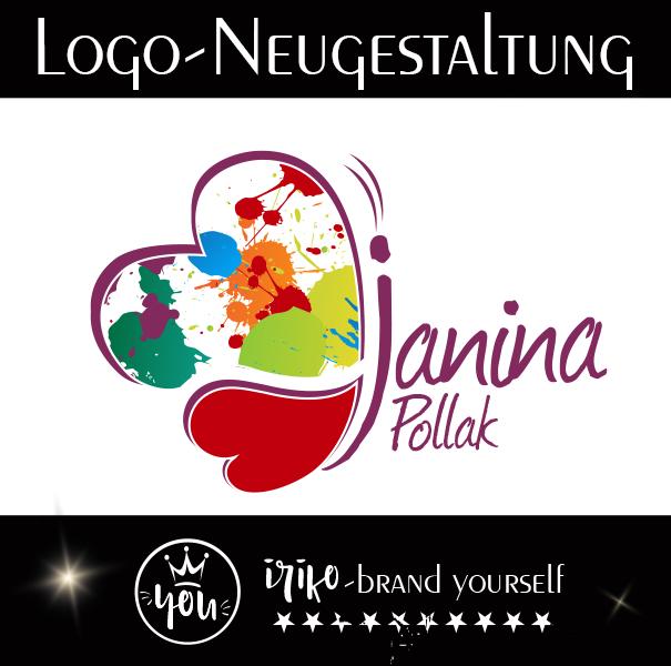 Logogestaltung Janina Pollak