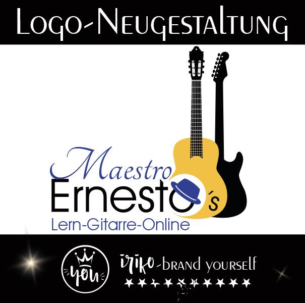 Logoentwicklung für Ernesto Maestro